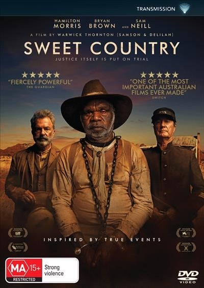 Sweet Country (2017) on DVD image