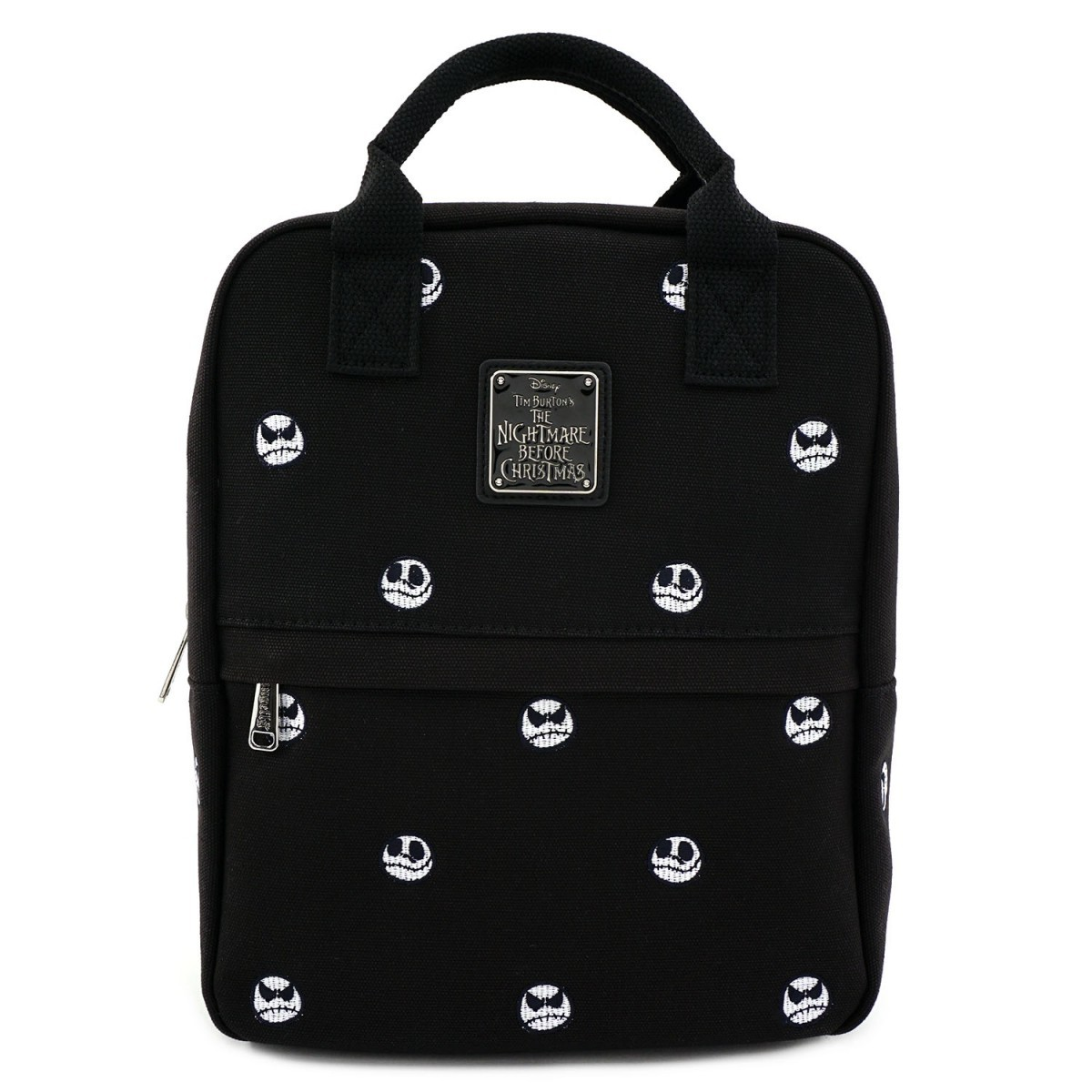 Loungefly: The Nightmare Before Christmas Embroidered Backpack - Jack Head image