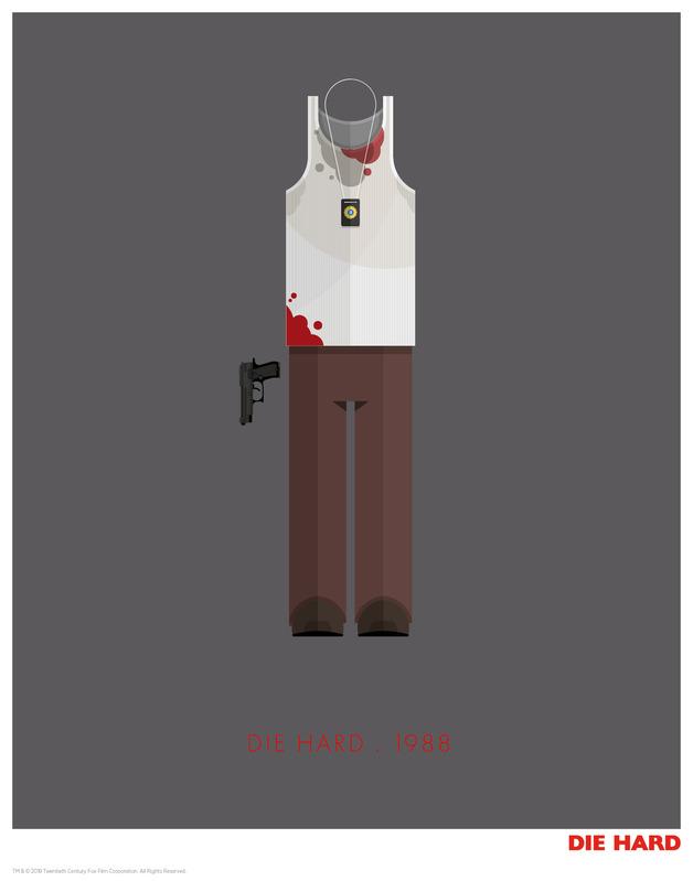 Die Hard: Premium Art Print - Fred Birchal