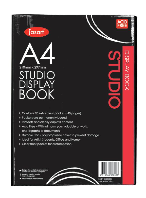 Jasart: Studio Display Book (A4)