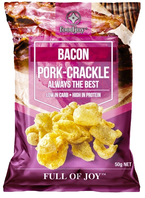 Foodjoy Pork Crackle Bacon 50g