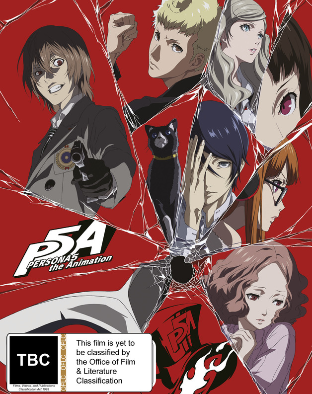 Persona 5: The Animation Part 1 (Limited Edition) on Blu-ray