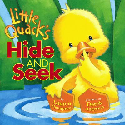 Little Quacks Hide and Seek by Lauren Thompson image
