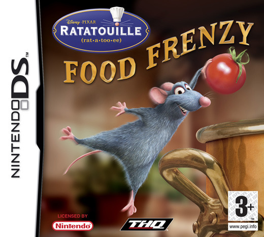 Ratatouille: Food Frenzy for Nintendo DS