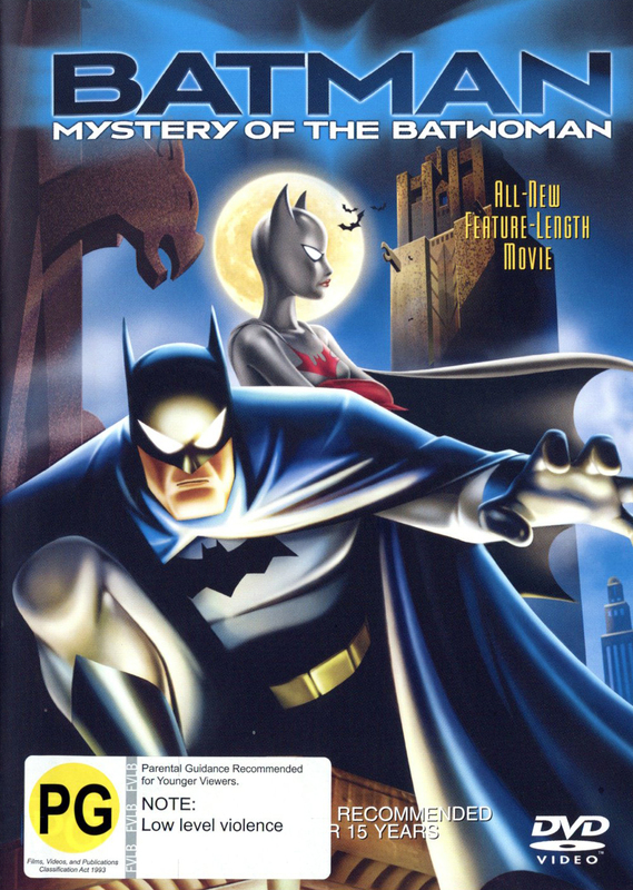 Batman - Mystery Of The Batwoman on DVD