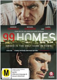 99 Homes on DVD