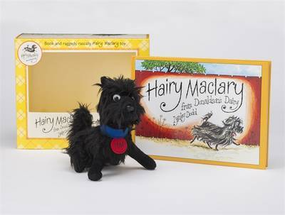 Hairy Maclary From Donaldson's Dairy - Book and Plush Boxed Set by Lynley Dodd image