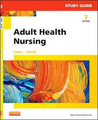 Study Guide for Adult Health Nursing by Kim Cooper image