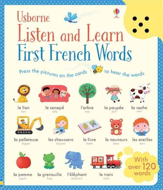 Listen and Learn First Words in French by Sam Taplin