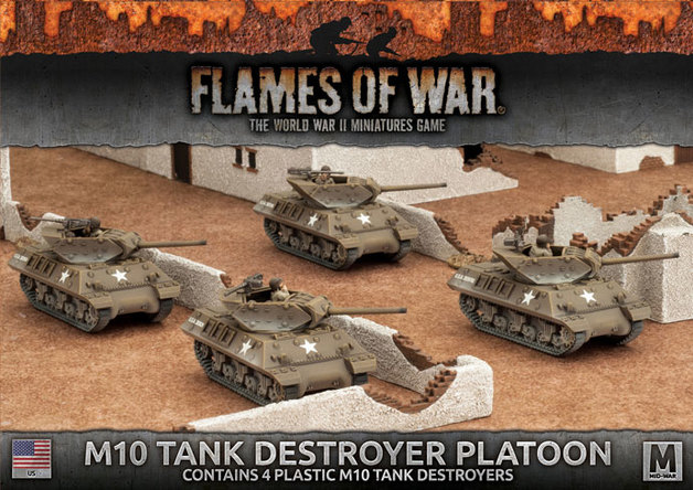 Flames of War: M10 3-Inch Tank Destroyer Platoon