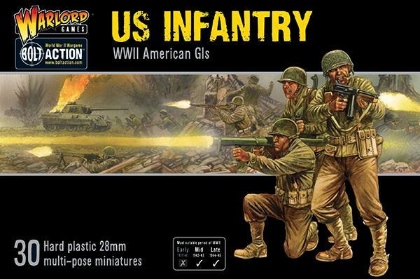 Bolt Action: US Infantry - WWII American GIs