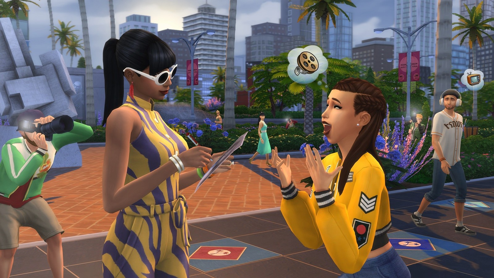 The Sims 4 Get Famous (code in box) for PC image