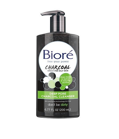 Biore: Deep Pore Charcoal Cleanser (200ml)
