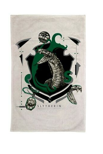 Harry Potter: Slytherin Tea Towel