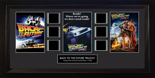 FilmCells: Montage Frame - Back to the Future Trilogy (Limited Edition)