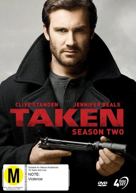 Taken - Season 2 on DVD