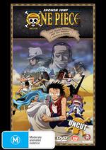 One Piece - The Movie: Adventures In Alabasta on DVD