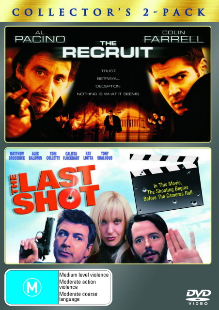 Recruit, The / The Last Shot - Collector's 2-Pack (2 Disc Set) on DVD