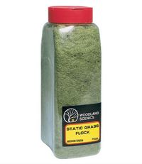 Woodland Scenics Flock Medium Green Shaker