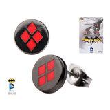 Batman - Harley Quinn Logo Stud Earrings