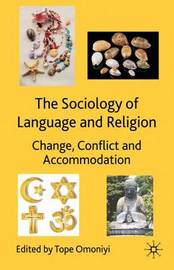 The Sociology of Language and Religion by Tope Omoniyi image