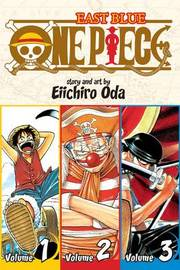 One Piece Omnibus 1: East Blue 1-2-3 (3 Books in 1) by Eiichiro Oda