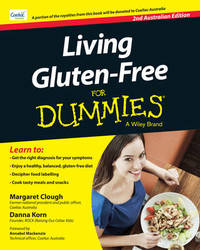 Living Gluten-Free For Dummies - Australia by Margaret Clough