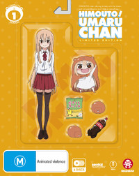 Himouto! Umaru-chan - Complete Season 1 (Limited Edition) on DVD, Blu-ray