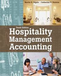 Hospitality Management Accounting by Martin G Jagels