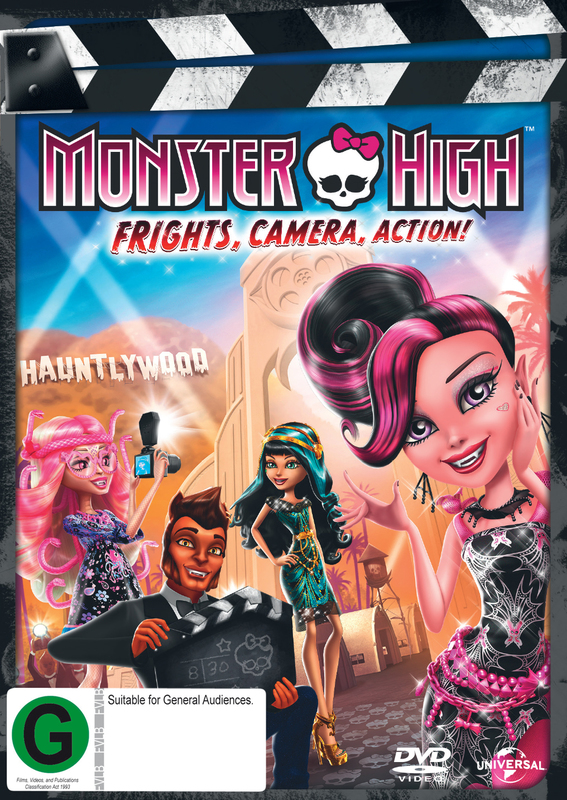 Monsters High: Frights, Camera Action! on DVD