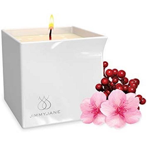 JimmyJane Afterglow Massage Candle Berry Blossom