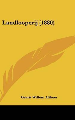 Landlooperij (1880) by Gerrit Willem Altheer