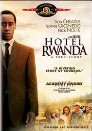 Hotel Rwanda on DVD image