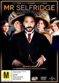 Mr Selfridge - Series 1 on DVD image