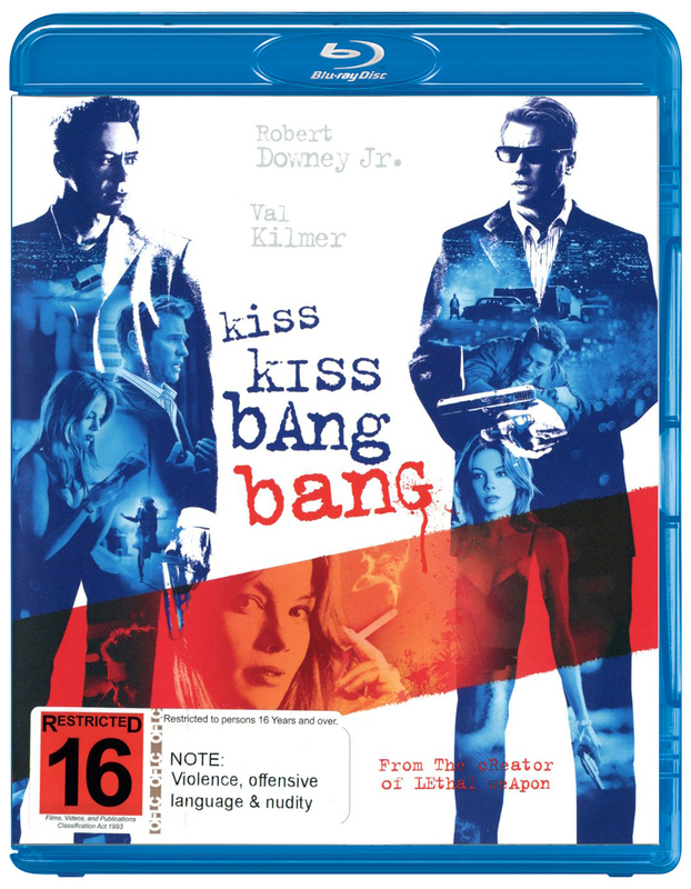 Kiss Kiss Bang Bang on Blu-ray