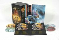 Chronicles of Narnia Complete Book AND Audio Box Set (Celebrity Readings) by C.S Lewis