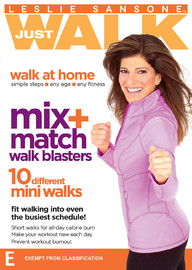 Leslie Sansone Mix & Match Walk Blasters on DVD