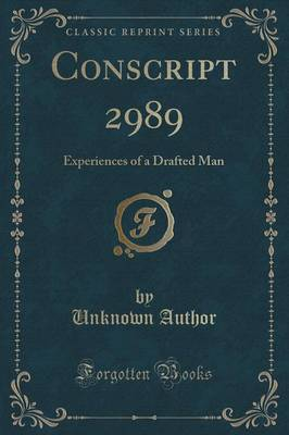 Conscript 2989 by Unknown Author