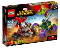 LEGO Super Heroes: Hulk vs. Red Hulk (76078)