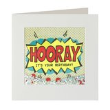 Hooray Birthday Shakies Card
