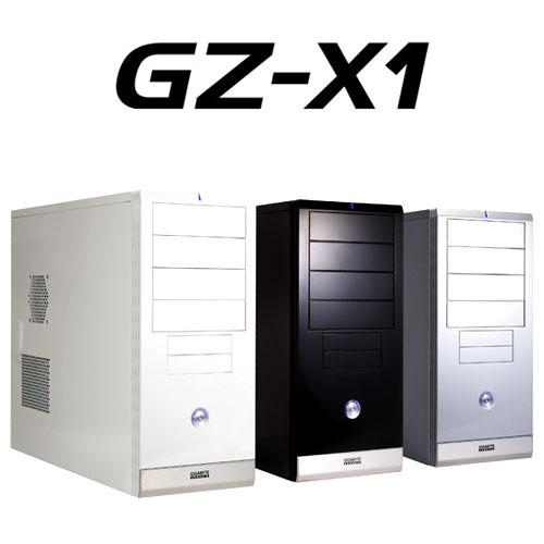 GIGABYTE GZ-X1 ATX CASE 1 FAN + FIREWIRE BLACK image