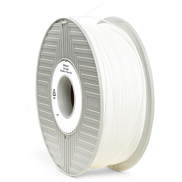 Verbatim 3D Printer PLA 1.75mm Filament - 1kg (White)
