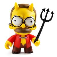 The Simpsons: Devil Flanders - Vinyl Figure (Medium)