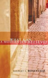 What Can a Modern Jew Believe? by Gilbert S Rosenthal image