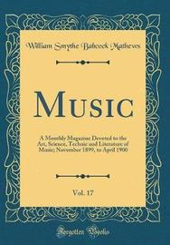 Music, Vol. 17 by William Smythe Babcock Mathews image