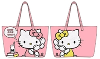 Loungefly: Hello Kitty - How Are You Pink Tote Bag