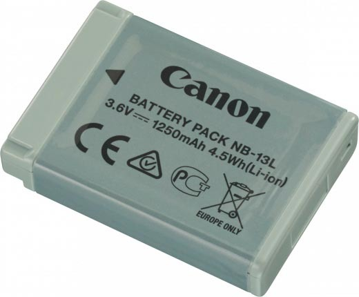 Canon NB-13LH Camera Battery image