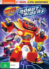 Blaze And The Monster Machines: Robot Riders on DVD