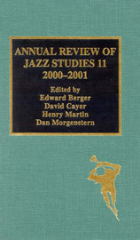 Annual Review of Jazz Studies 11: 2000-2001 image