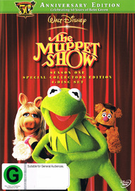 The Muppet Show - Season 1 on DVD image